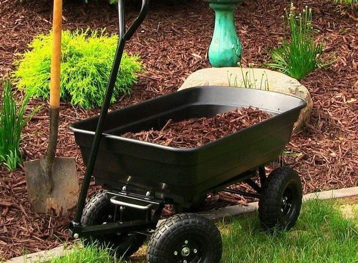 Какой должна быть садовая тележка.